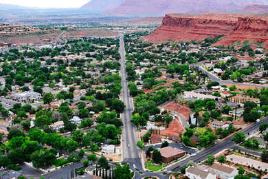 photo of the city of St George utah